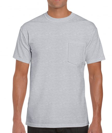 Adult T Shirt With Pocket